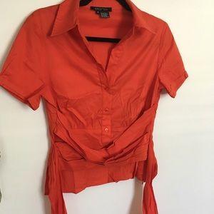 Tie around blouse